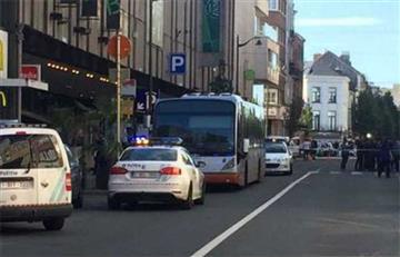 Mujer apuñala a varias personas en Bruselas