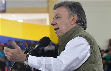 """Santos: """"Invito a los funcionarios a decirle sí a la paz"""""""