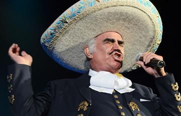 Vicente Fernández tiene listo su nuevo álbum