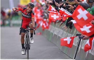 Vuelta a España: Darwin Atapuma, nuevo líder de la Vuelta a España