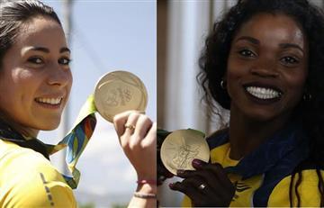 Mariana Pajón, Ibargüen y Figueroa recibirán este salario por ganar Oro olímpico