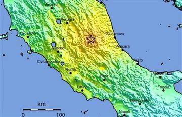 Italia: Terremoto deja muertos y daños materiales