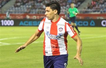 Ovelar dejó a Junior con un pie en la tercera fase de la Sudamericana