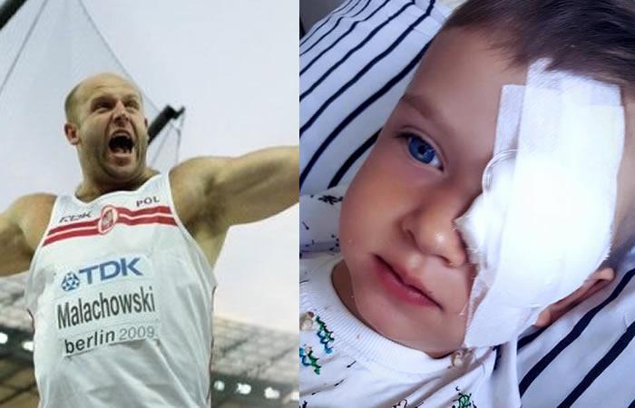 El atleta polaco que vende su medalla de plata. Foto: Facebook
