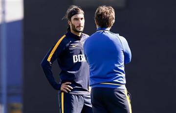 Sebastián Pérez ya se entrena con Boca Juniors