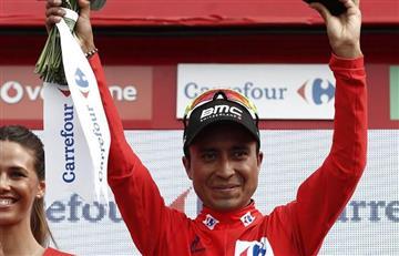 Vuelta a España: Maillot roja para Atapuma, pero Valverde es líder. Gran confusión.