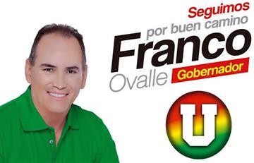¿Por qué Franco Ovalle sería destituido como gobernador del Cesar?