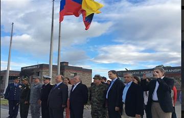 Delegación del Gobierno llegó a Colombia