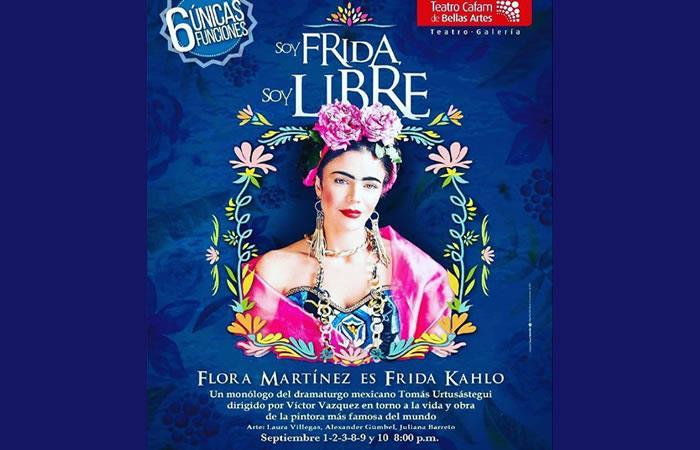 Frida con Flora Martínez llega al Teatro de la Castellana
