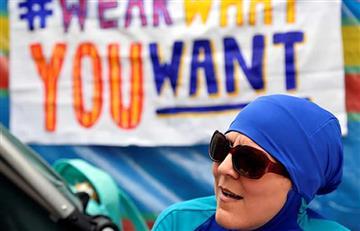 Francia suspende el veto del 'burkini'