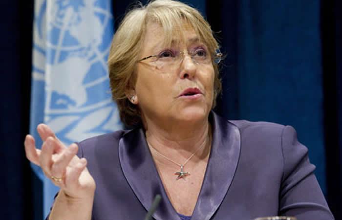 Michelle Bachelet garantizó el apoyó de Chile en la etapa de posconflicto