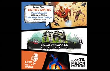 Sala Distrito Gráfico: Comic, manga y anime en Bogotá