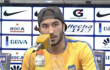 Sebastián Pérez comienza a ganarse la hinchada de Boca Juniors