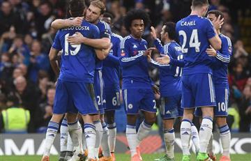 Chelsea sin Cuadrado ganó y goleó en la Premier League