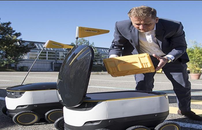 Tecnología: Suiza utilizará robots para repartir correos