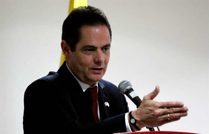 Germán Vargas Lleras, Vicepresidente de Colombia. Foto: EFE