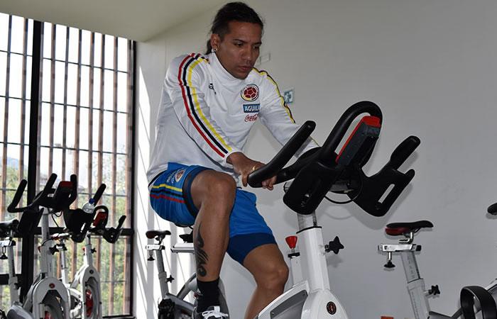 Dayro Moreno convocado a la Selección Colombia. Foto: EFE