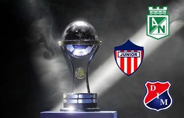 Nacional, Medellín y Junior con horarios definidos para partido de vuelta
