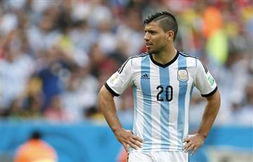 Selección Argentina: Sergio 'El Kun' Agüero, otra baja 'albiceleste'