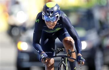 Vuelta a España: Nairo Quintana vuelve al liderato y gana etapa