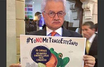 Everth Bustamante, del M-19, dice no a las Farc en el Congreso