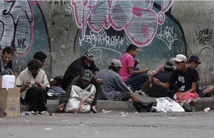 Habitantes de la calle, víctimas de