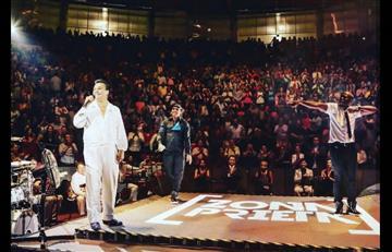 """Juan Gabriel: Los colombianos """"Zona Prieta"""" en su último concierto"""