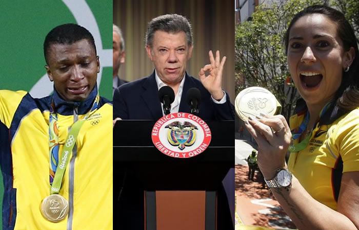 Mariana Pajón y los medallistas olímpicos reciben dinero del gobierno