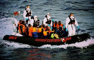 Rescatan a 6.500 inmigrantes en el Mediterráneo