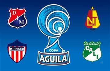 Copa Águila: Medellín recibe a Junior y Cali visita al Tolima