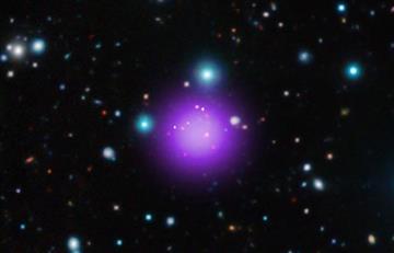 Descubren la agrupación galáctica más lejana de la Tierra