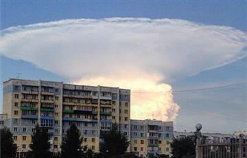 Enorme nube aparece en el cielo de Siberia
