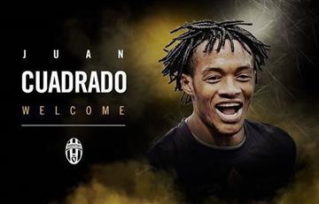 Juan Guillermo Cuadrado es nuevamente jugador de la Juventus