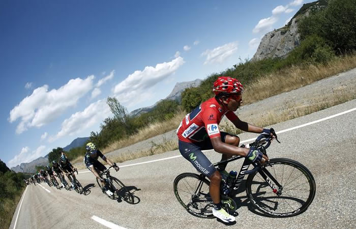 La Maillot Roja pertenece a Nairo Quintana. Foto: EFE