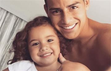 Salomé Rodríguez felicita a su tío David Ospina por su cumpleaños