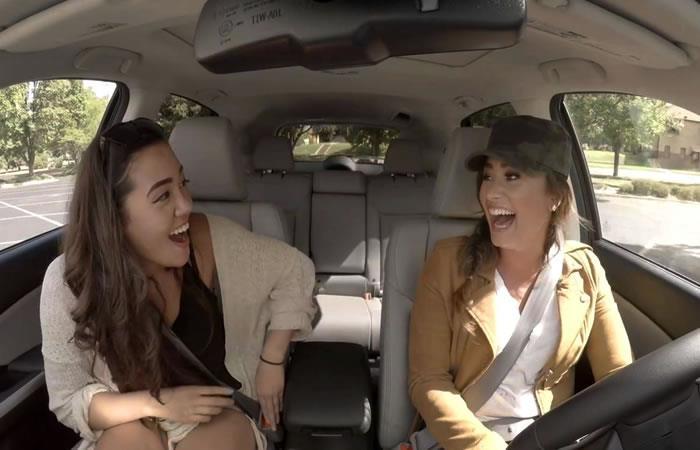 Demi Lovato sorprende a sus fanáticos como taxista