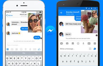 Facebook Messenger integra los videos instantáneos