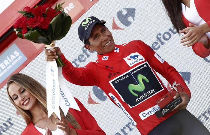 Nairo Quintana subió tres veces al podio en un sólo día, ¿por qué?