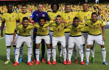 Alineaciones Colombia vs. Venezuela