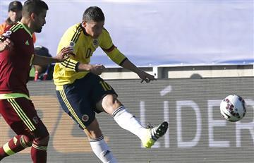 Selección Colombia: James Rodríguez le da la victoria parcial a Colombia