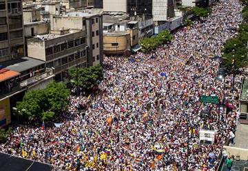 Toma de Caracas movilizó a más de un millón de venezolanos