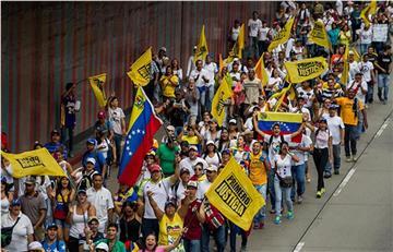 """Venezuela: """"La gran toma de Caracas"""" en busca del referéndum"""