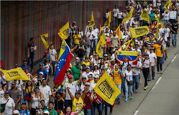Venezuela: 'La gran toma de Caracas' en busca del referéndum