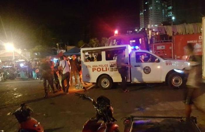 Filipinas: Explosión de bomba en un mercado