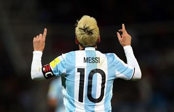Lionel Messi feliz de estar con la 'albiceleste'