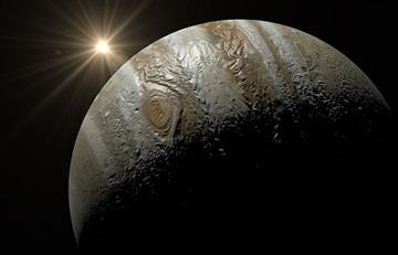 NASA queda sorprendida con las primeras imágenes del polo norte de Júpiter