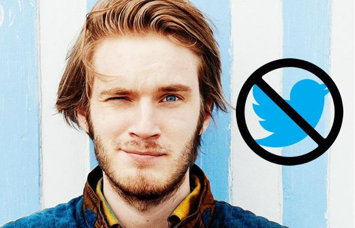 Twitter bloqueó el youtuber más famoso del mundo