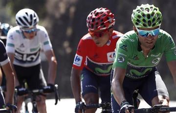 Vuelta a España: Nairo Quintana sigue primero y mantiene la Maillot Roja