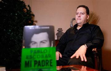 """Hijo de Pablo Escobar critica fuertemente la serie """"Narcos"""" de Netflix"""