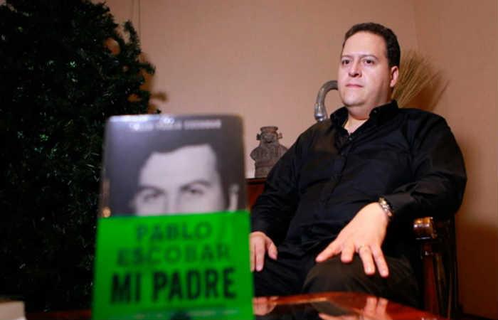 Juan Pablo Escobar. Foto: EFE